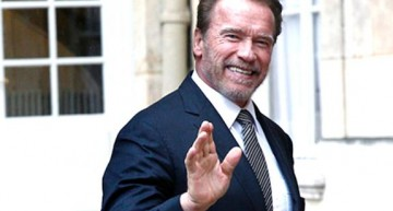 """Stop eating meat and save the earth"", Schwarzenegger"