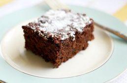 とっても簡単なヴィーガンのチョコレートケーキの作り方