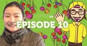 ベジタイムTV10作目は、京都で一人芝居をするヴィーガンの役者さん