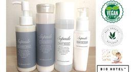 天然100%、完全無添加の化粧品「サプミーレ」6アイテムがヴィーガン認証取得