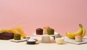 ヴィーガン&小麦不使用※のおしゃれなケーキがメロディアンから発売!
